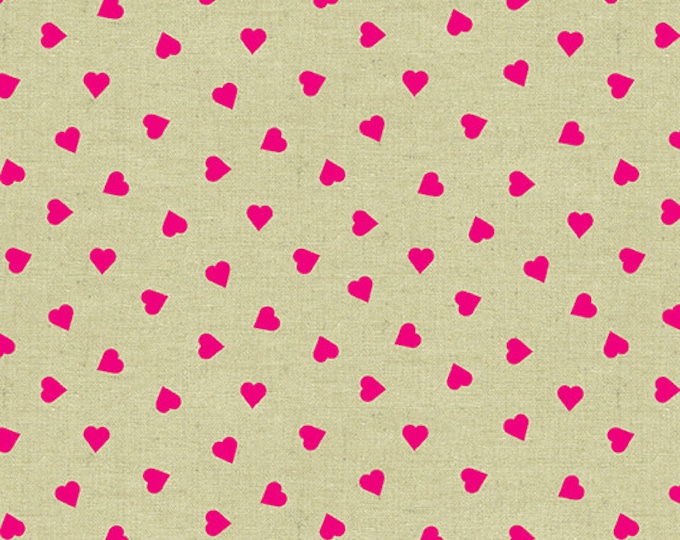 Libs Elliott - Mix Tape - Heart of Glass - Pink - Tailor's Cloth - Andover Fabrics - A8872E