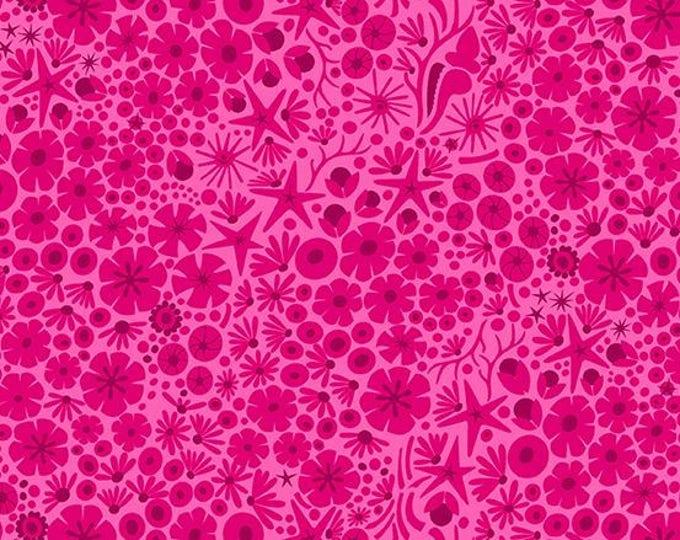 Andover Fabrics - Diving Board by Alison Glass -  A 8637 E Shrimp Reef Cotton Woven
