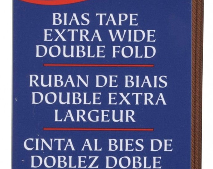 Notion -Extra Wide Double Fold Bias Tape Bark # 1172061236
