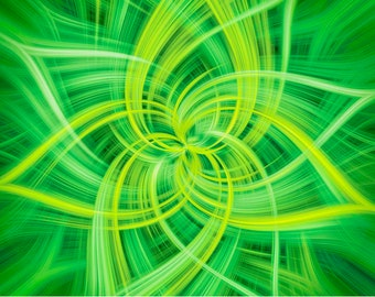 "Hoffman Fabrics - Dream Big Dance by Jeanie Sumrall-Ajero - 43"" Panel - R4658-71-Lime - Cotton Woven Fabric"