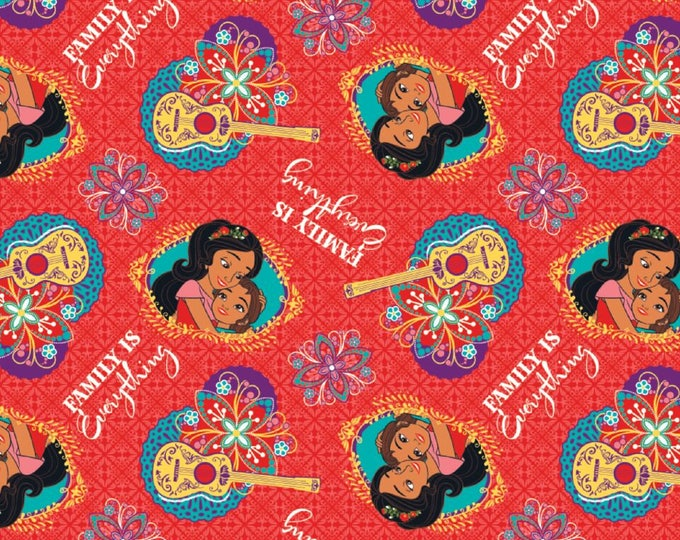 Springs Creative - Elena, Family is Everything Cotton Woven Fabric