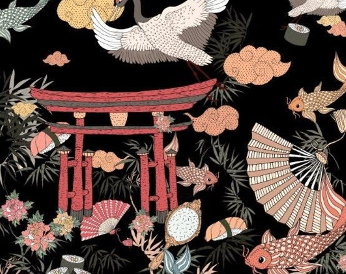 Alexander Henry Fabrics - Lost in Tokyo - 8782D - Cotton Woven Fabric
