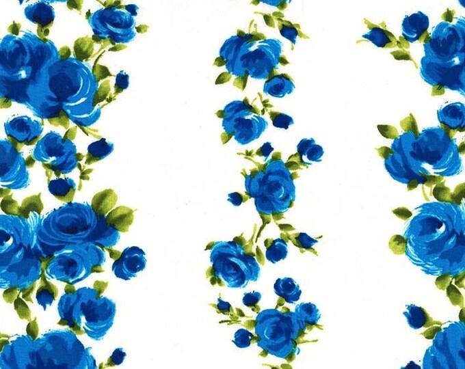 Michael Miller Fabrics - Charming by Gertie - Divine Stripe - Sapphire - Cotton Woven Fabric