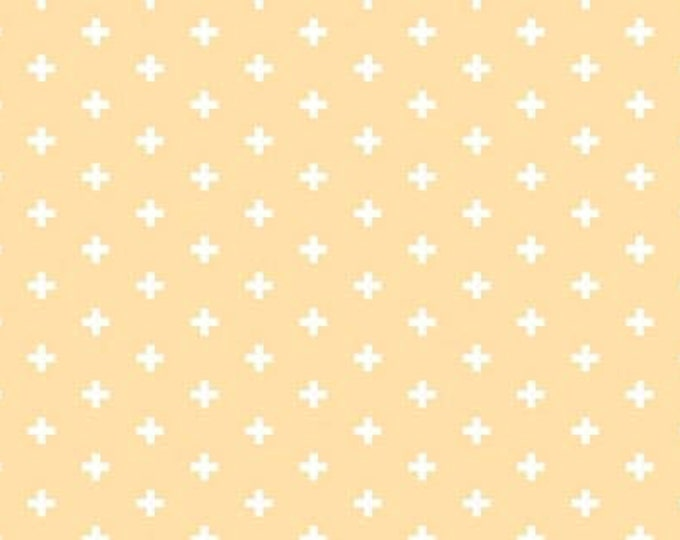 Dear Stella - Positive - Butter Pale Yellow Cotton Woven Fabric