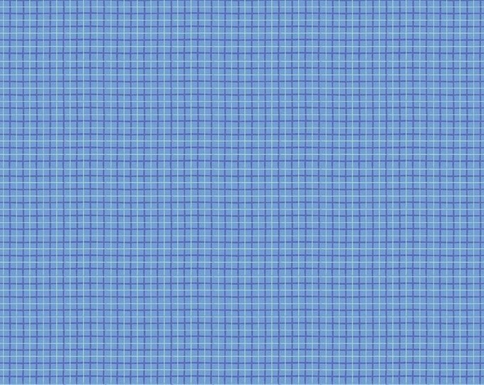 Riley Blake Designs - Dorothy's Journey by Jill Howarth - Plaid Blue C8686-BLUE - Cotton Woven Fabric