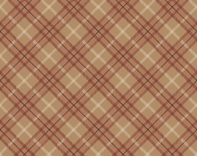 Studio E Fabrics - Running Free - Plaid - Rust 4963-34 - Cotton Woven Fabric