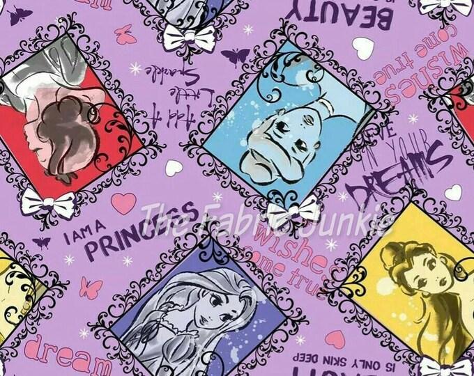 Disney Framed Princesses on Purple