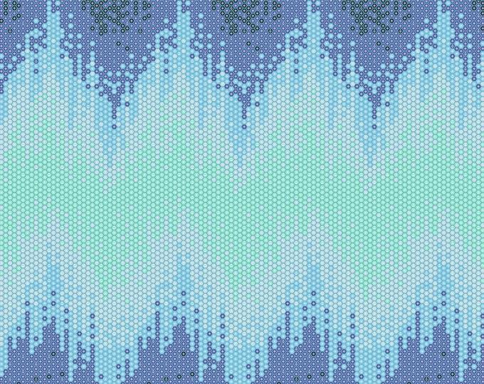 Tula Pink - Zuma - High Tide - Aquamarine     PWTP124-AQUA Cotton Woven Fabric