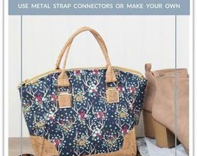 Daphne Handbag Sewing Pattern from Sallie Tomato