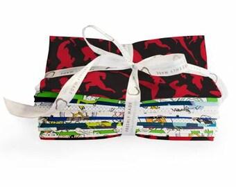 Camelot Fabric - Disney Pixar 8 piece Fat Quarter Bundle Cotton Woven Fabric
