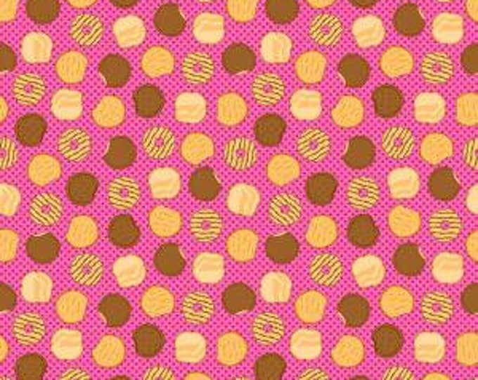 Girl Scout Cookies Pink Cotton Woven by Riley Blake Designs