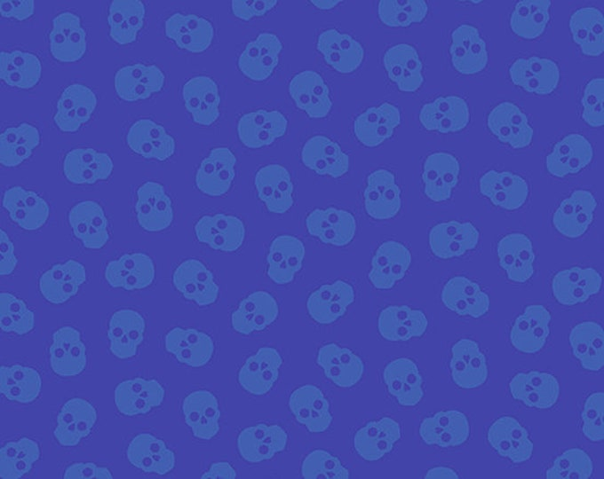 Andover Fabrics - Libs Elliott - Mix Tape - Tainted Love - Sapphire   A8870B Cotton Woven Fabric