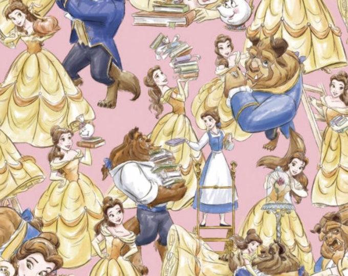 Springs Creative  - Disney Beauty & The Beast Cotton Woven Fabric