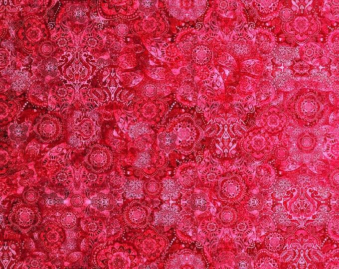 Quilting Treasures  - Bohemian Rhapsody by Dan Morris - Strawberry Fields -   26956 RP Cotton Woven Fabric