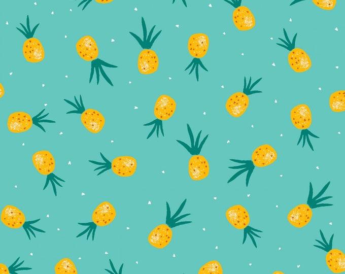Dear Stella - Flockstar - Atlantis Pineapple  # ST-1266ATLA Cotton Woven Fabric