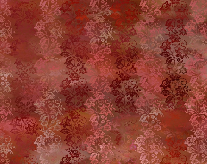 Diaphanous - Brown - Cotton Woven Fabric by Jason Yenter for In the Beginning Fabrics 5ENC-1