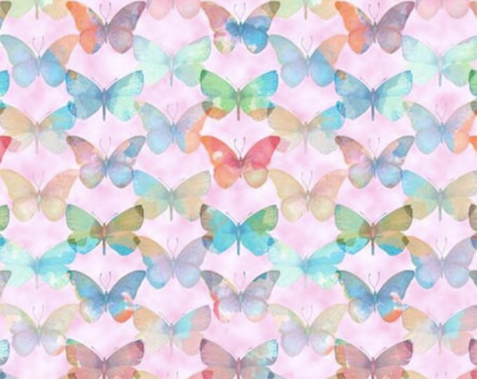 Blank Quilting - Papillon Parade by Janice Gaynor - Tonal Butterfly #9367-22 Cotton Woven Fabric