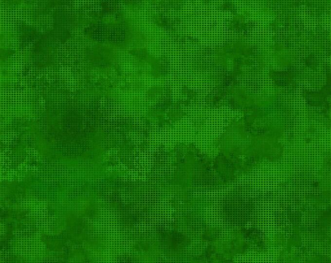 In the Beginning Fabrics - Dit Dot Evolution by Jason Yenter - Evergreen 1dde_24 Cotton Woven Fabric