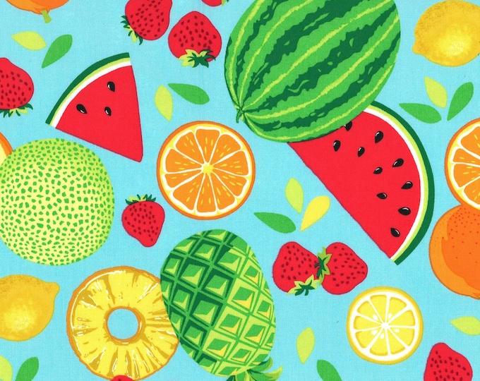 Michael Miller Fabrics - Sew Fruity - Punch Fruit Toss # CX8518-PUNC - Cotton Woven Fabric