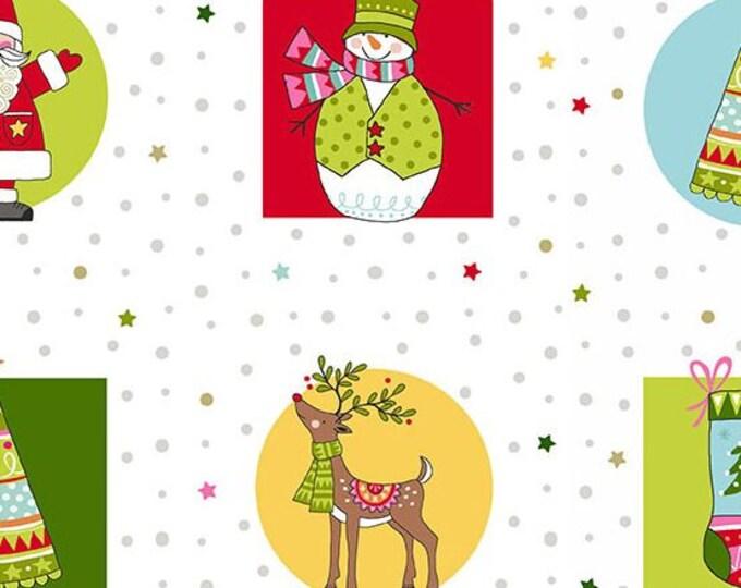 Andover Fabric - Festive -TP-2117-1 - Cotton Woven Fabric