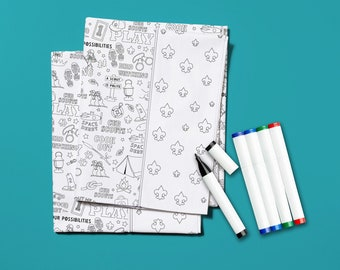 Kit -  Color Me Pillowcase Kit Cubscout # KT0107