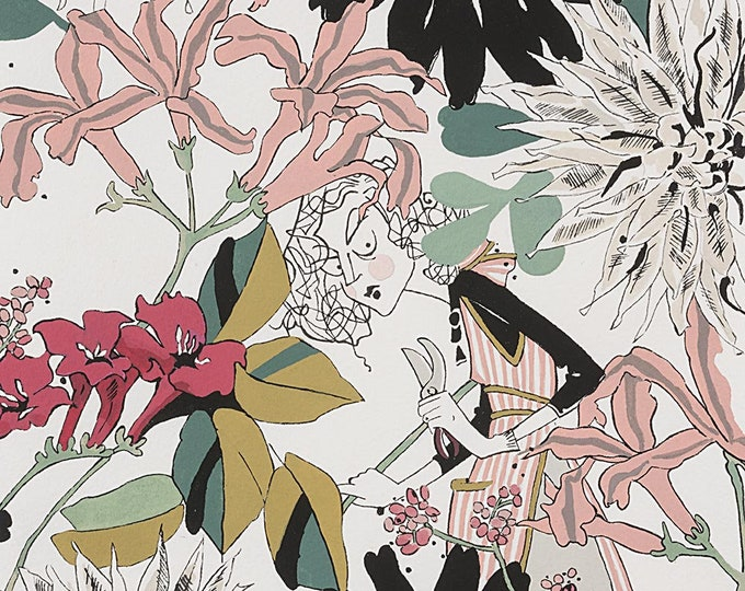 Alexander Henry - A Ghastlie Snip - Natural - Cotton Woven Fabric