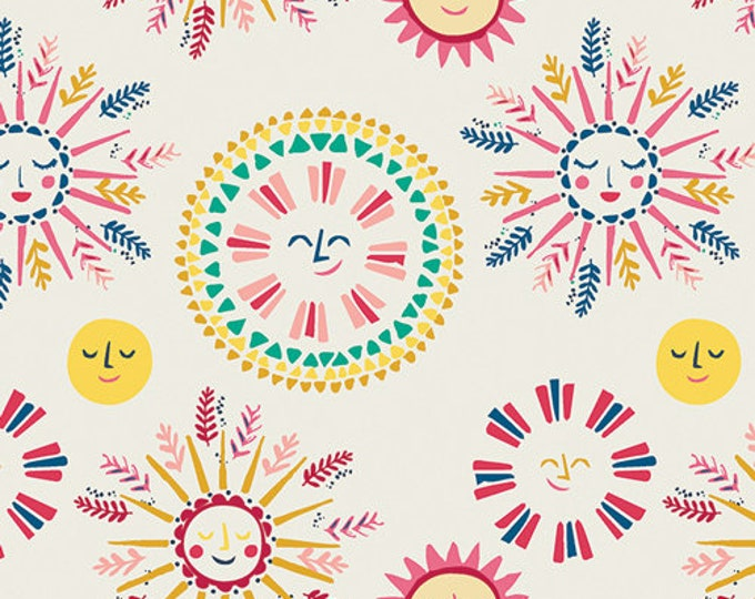 Art Gallery Fabric - Sun Kissed by Maureen Cracknell - Sunny Side up  84306 Cotton Woven Fabric