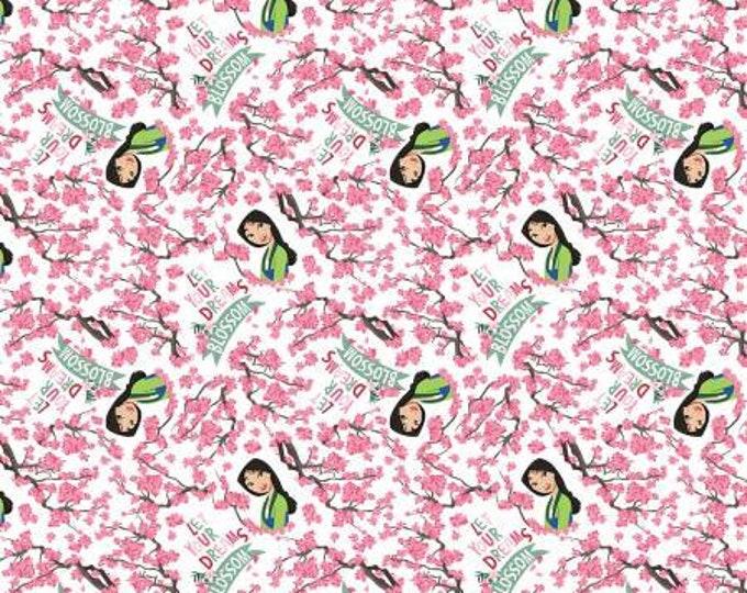 Springs Creative - Disney Mulan - Blossom Dreams - Cotton Woven Fabric