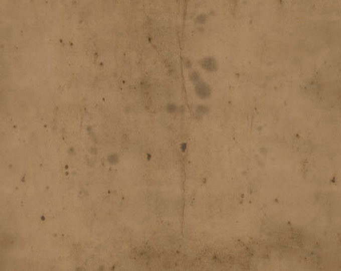 CLEARANCE -      Free Spirit Fabric  - Provisions by Tim Holtz -  Mocha Cotton Woven Fabric- 1 yard listing