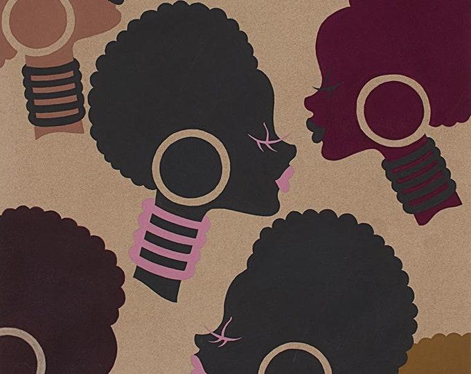 Coffee Electra Cotton Woven Fabric - 8296E - Alexander Henry Fabrics