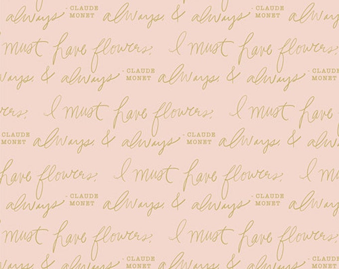 Art Gallery Fabric - Gathered - Always & Always - Luminance - Cotton Woven