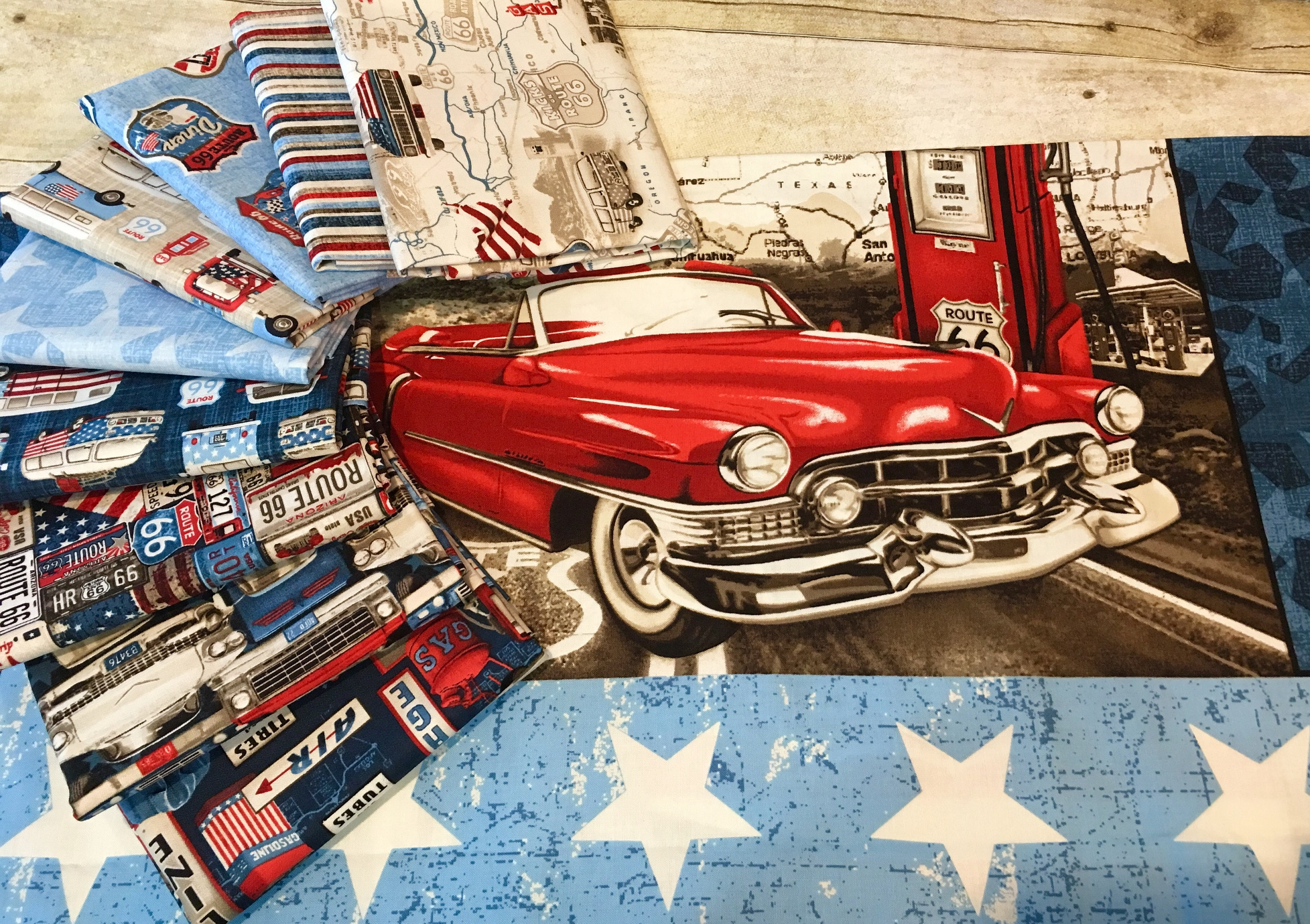 Studio E - All American Road Trip - Travel Map- Tan 4314-33 ...
