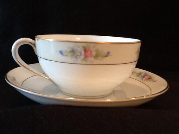 Antique Noritake Nippon Tea Cup Sedan Pattern Cup Etsy