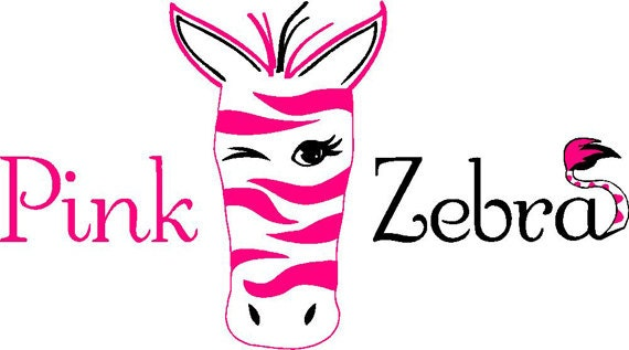 Sale car decal pink zebra independent consultant car window decal 3 color custom personalized order car decal advertise pink zebra from boxburst on etsy