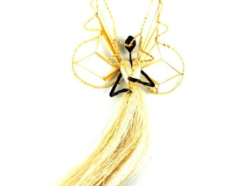 Sisal and Banana Fiber Angel