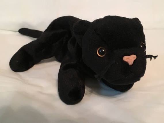 TY Beanie Baby VELVET the Black Panther Pristine with Mint  063d26cdf19