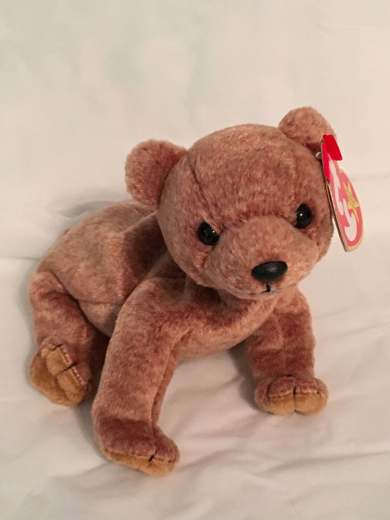 177ee0deadd TY Beanie Baby PECAN the Bear Pristine with Mint Tags