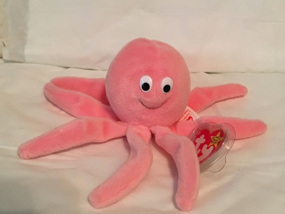 TY INKY the OCTOPUS BEANIE BABY MINT with MINT TAG