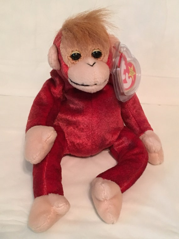 TY Beanie Baby SCHWEETHEART the Orangutan RETIRED Pristine with Mint Tags