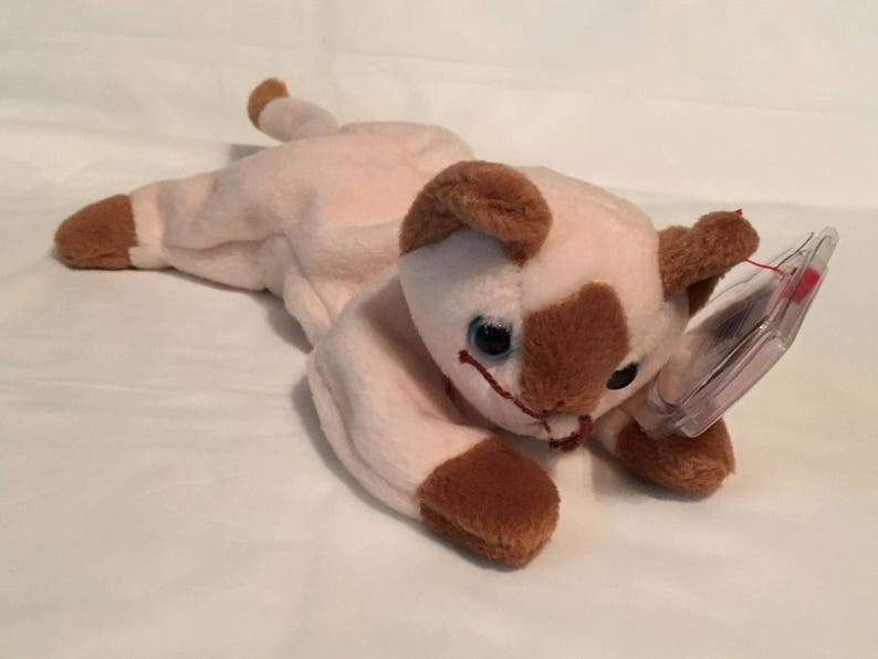 190c08494ee TY Beanie Baby SNIP the Cat Pristine with Mint Tags PE