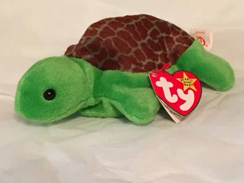 894b8be44a1 TY Beanie Baby SPEEDY the Turtle Pristine with Mint Tags