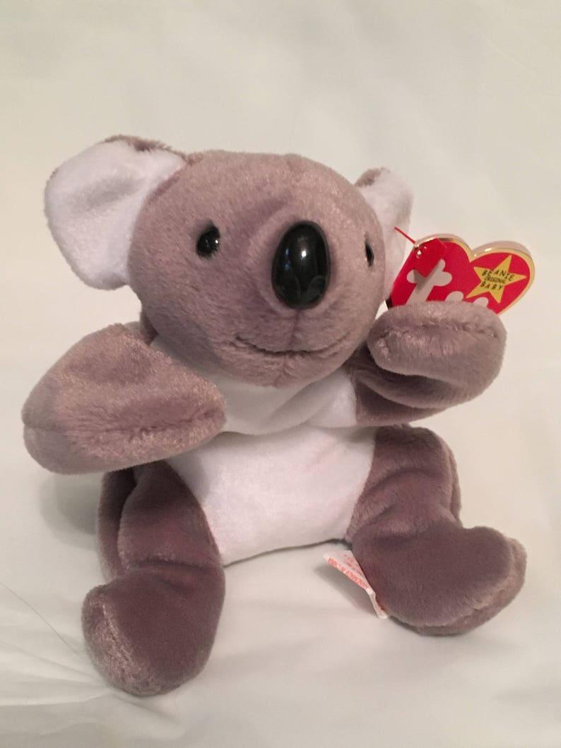 255bdb8e429 TY Beanie Baby MEL the Koala Bear Pristine with Mint Tags