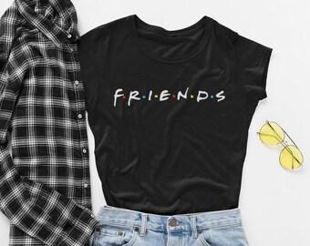 f51c45317e1 Friends Shirt Friends T Shirt Sweatshirt TV Show Crewneck Girls Shirt Best  Friends Sweater Couple TShirt Friends Show Gift