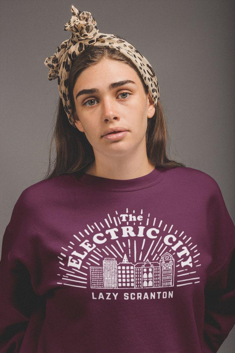 c8460aa7f The Electric City Crewneck Scranton Shirt The Office | Etsy