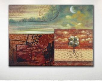 Alessandro Mangione quadri dipinti a mano di MangioneArt su Etsy