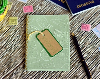 Ireland | Travel gift | Personalized journal | Travel accessories for women | Gifts for travelers | Journal | Travel womens | Travel men