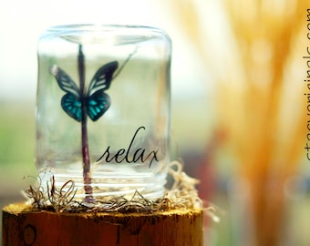 Relax | Retirement gift for women | Zen | Spa gifts for her | Butterfly | Butterflies | Relaxation gift | Inspirational her | Encouragement
