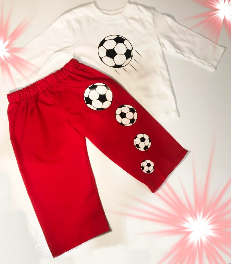 49b0330512a Boys Soccer Outfit Girl Soccer Outfit Baby Soccer Toddler