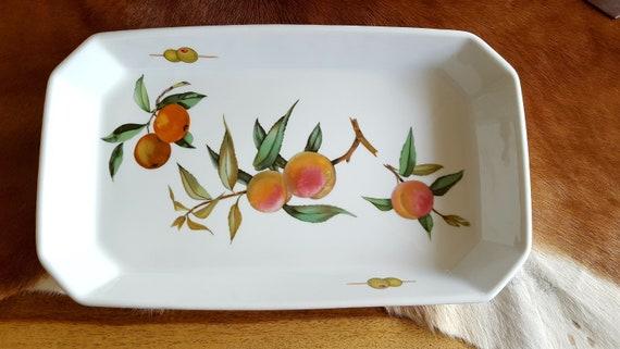 Royal Worcester Porcelain Pan Evesham M Made In   Etsy