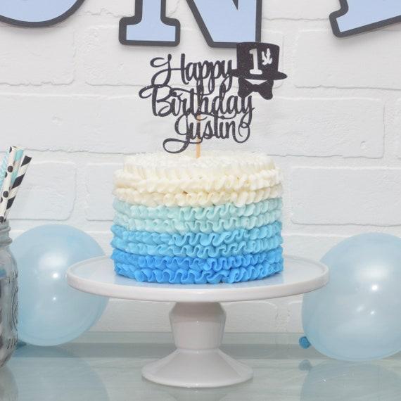 Stupendous Little Man Cake Topper Little Gentleman Birthday Mr Etsy Funny Birthday Cards Online Ioscodamsfinfo